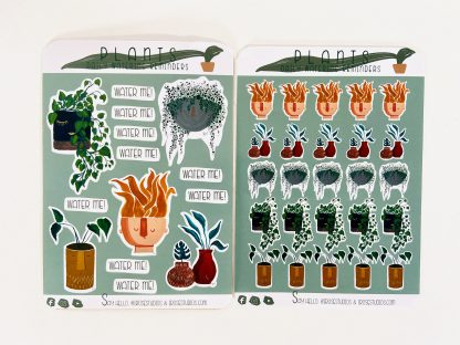 Personality Plants Collection Sticker Pack